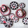 Circle Cookies in Geometric Designs