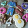 Breakfast Theme Cookies for the Birthday Girl