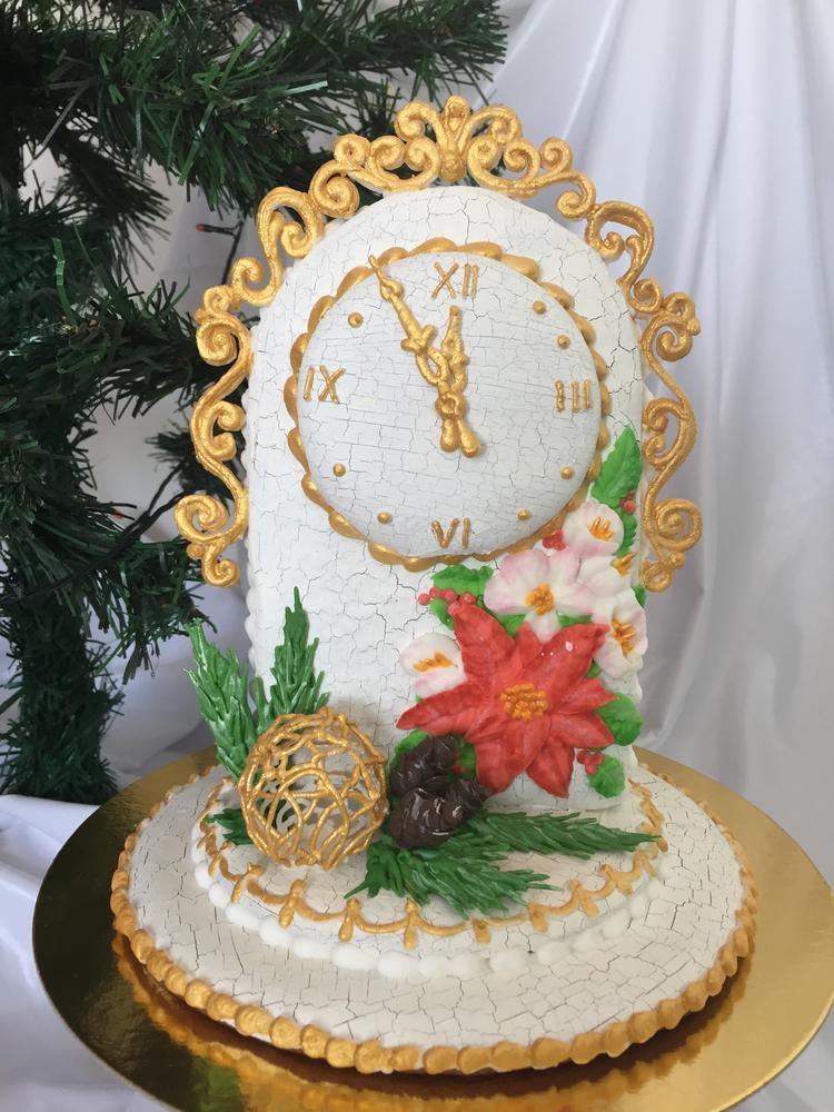 Gingerbread Christmas Clock