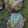Closer View of Underwater Ephemera Collage Cookies by Julia M Usher