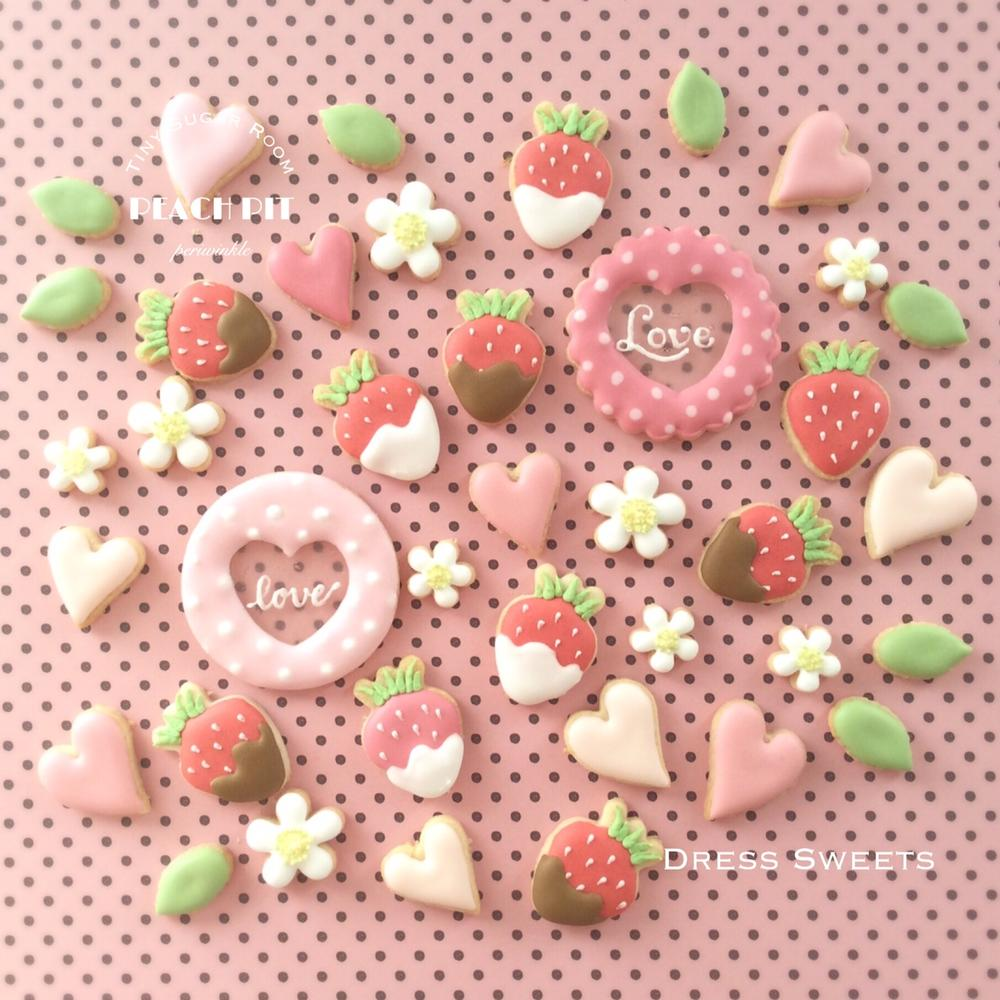 Strawberry & Heart Cookies