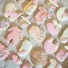 Girl's  Baby shower Cookies