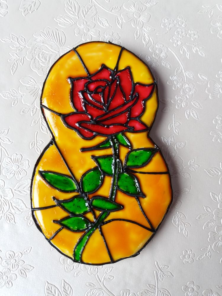 My first stained glass cookies