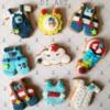 Baby boy cookies!❤