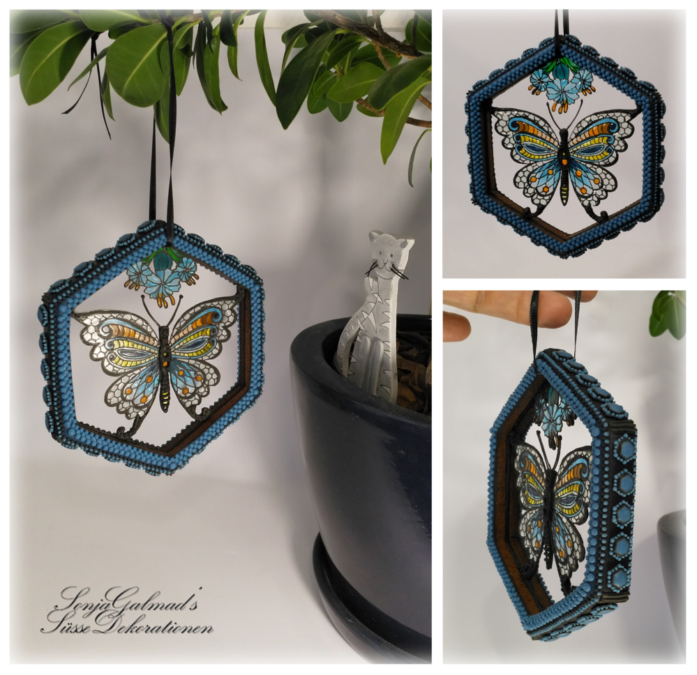 Isomalt Butterfly Suncatcher