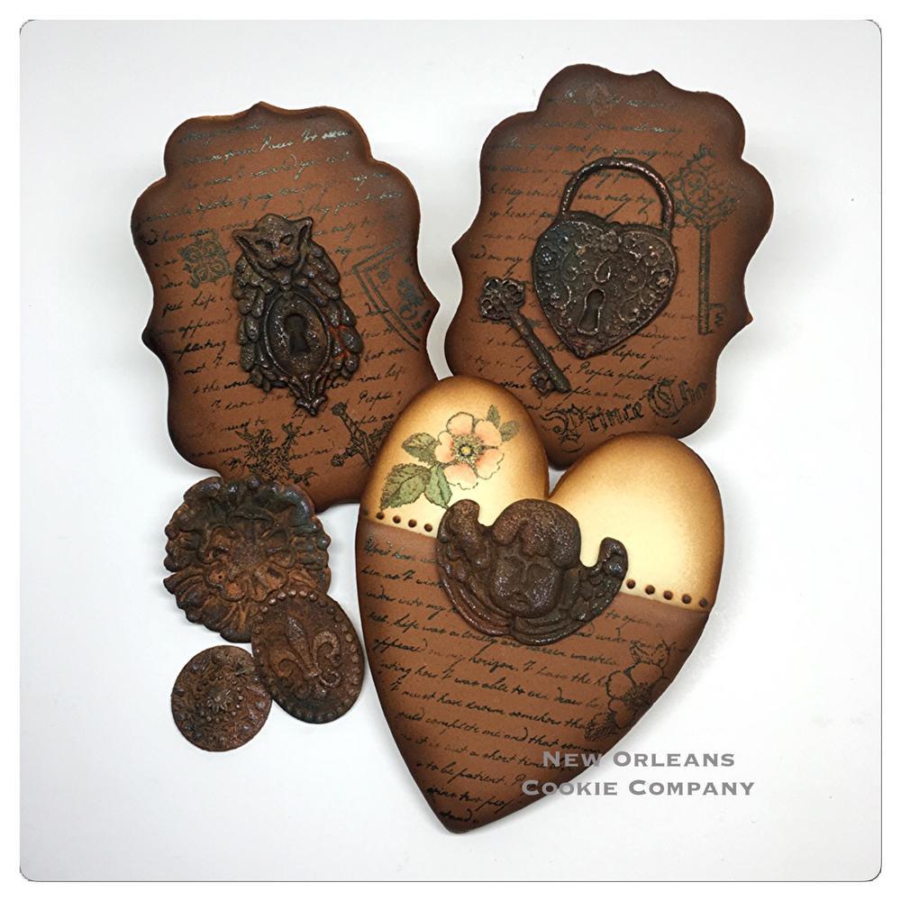 Rusted Enchanted Garden Cookies