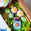 Jar with flowers!🌸