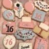 Sweet 16 Cookies
