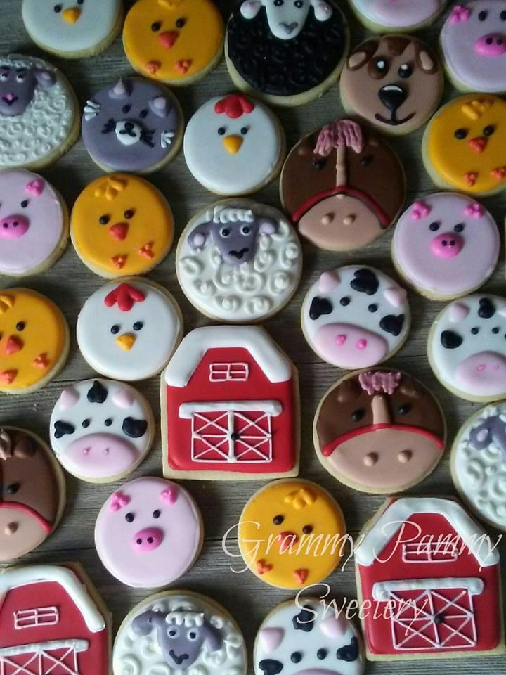 Barnyard/Farm Cookies