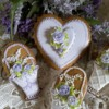 Hearts and baskets