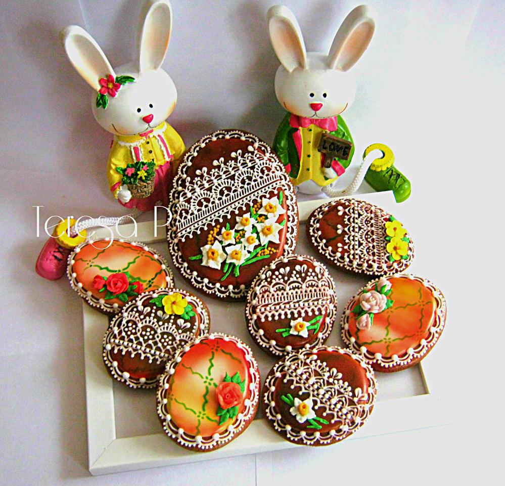 Koronkowe jajeczka