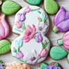 Spring Art Cookies by Peony Cookies Studio
