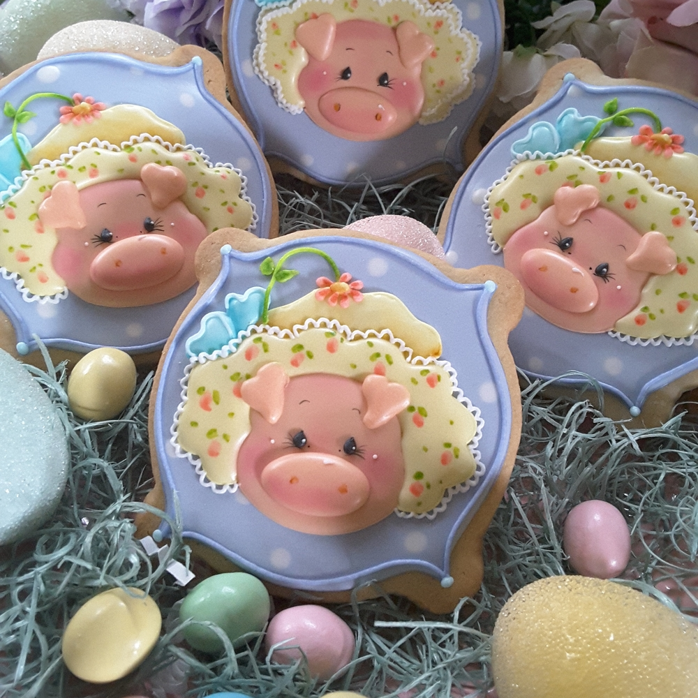 Pigs in a bonnet