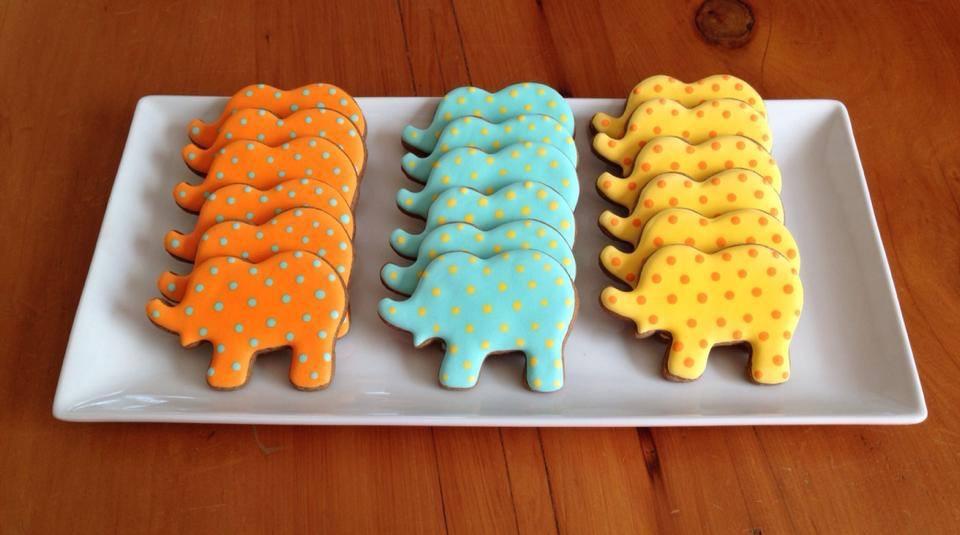 Emilio's baby shower cookies