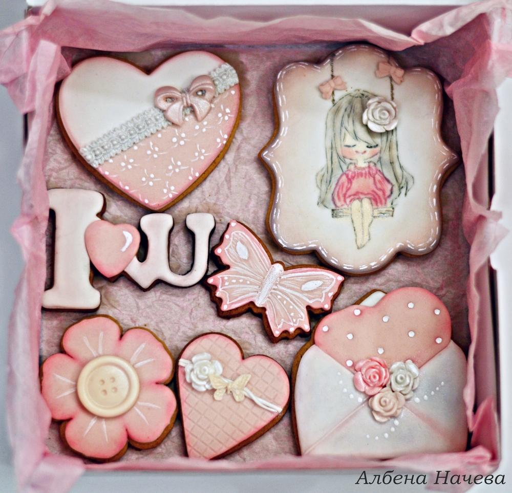 Gift set Vintage cookies