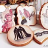Hand painted Fashion cookies