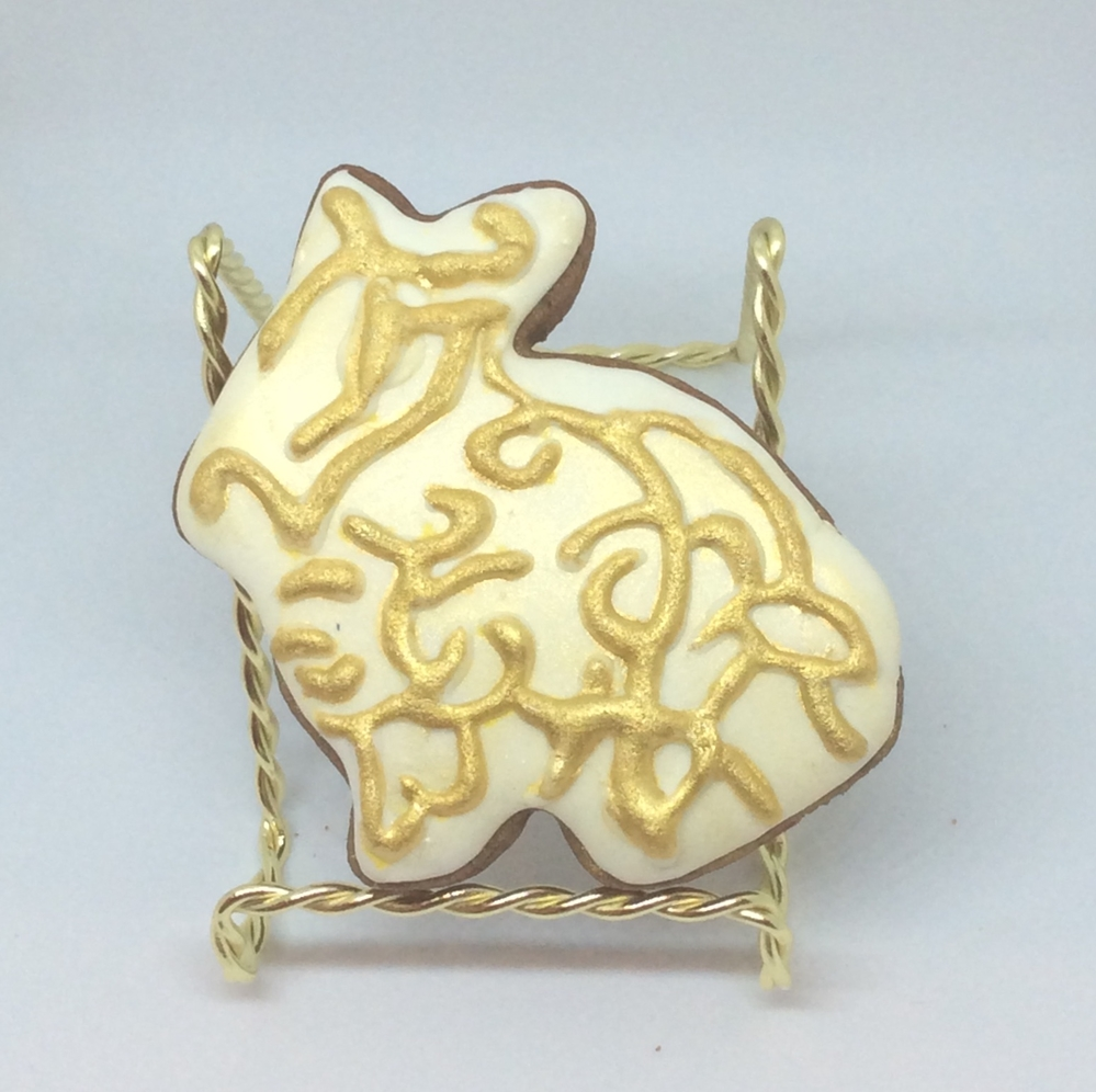 Gold bunny