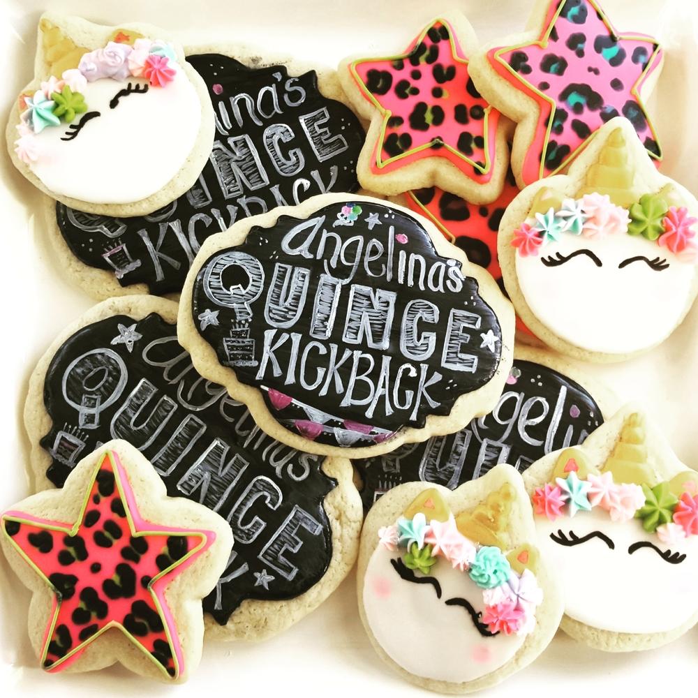 Quince Kickback Cookies (Fifteenth Birthday)