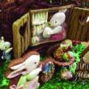 Conejitos de Pascuas (Easter bunnies) detail