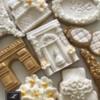 Lorena Rodríguez. Wedding cookies. Bridal cookies