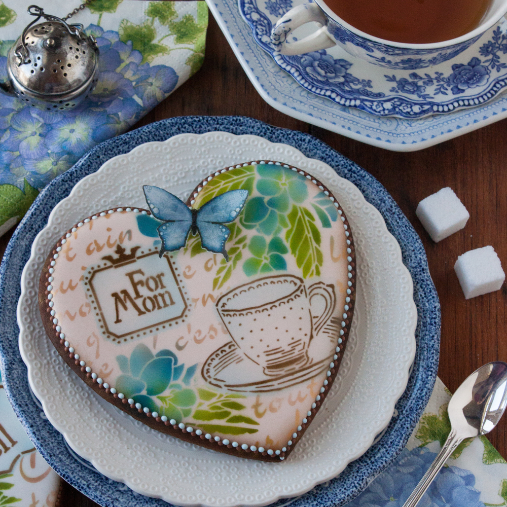 Mother's Day Tea Time Heart