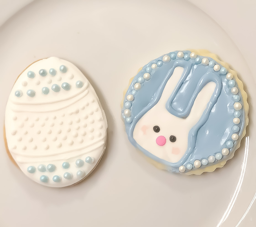 Easter Egg and Bunny