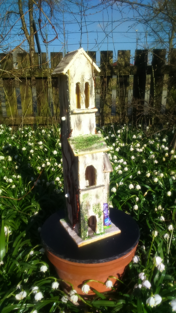 Tower for the Easter Bunnies