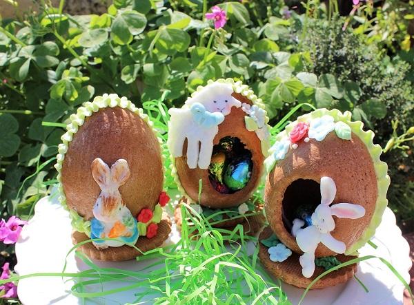 3D Easter eggs