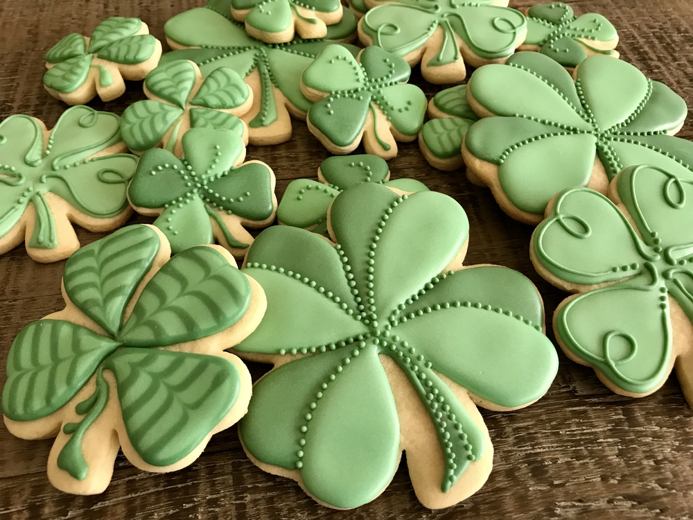 Four-Leaf Clovers by Paige Gesing