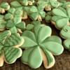 Paige's Designer Cookies 4 leaf clovers