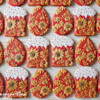 Easter Cookies in Russian Style by Peony Cookies