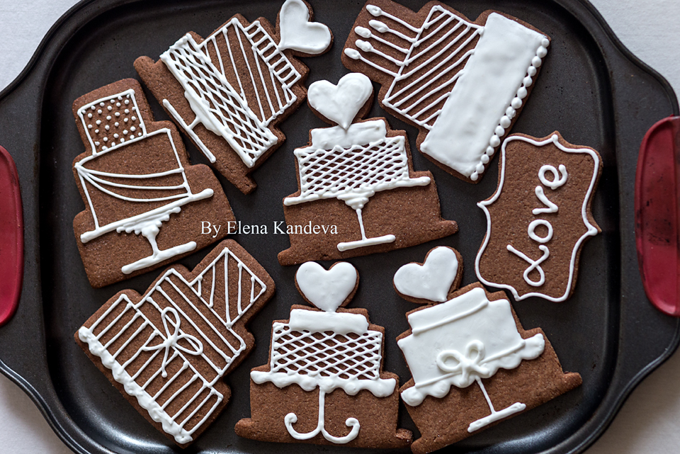 Birthday and Wedding Cookies