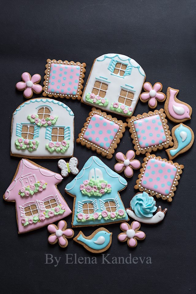 Spring and Girl's Birthday Cookies