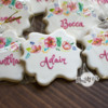 Handpainted Place Card Cookies