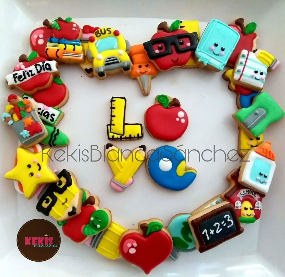 Teacher's day Mini cookies