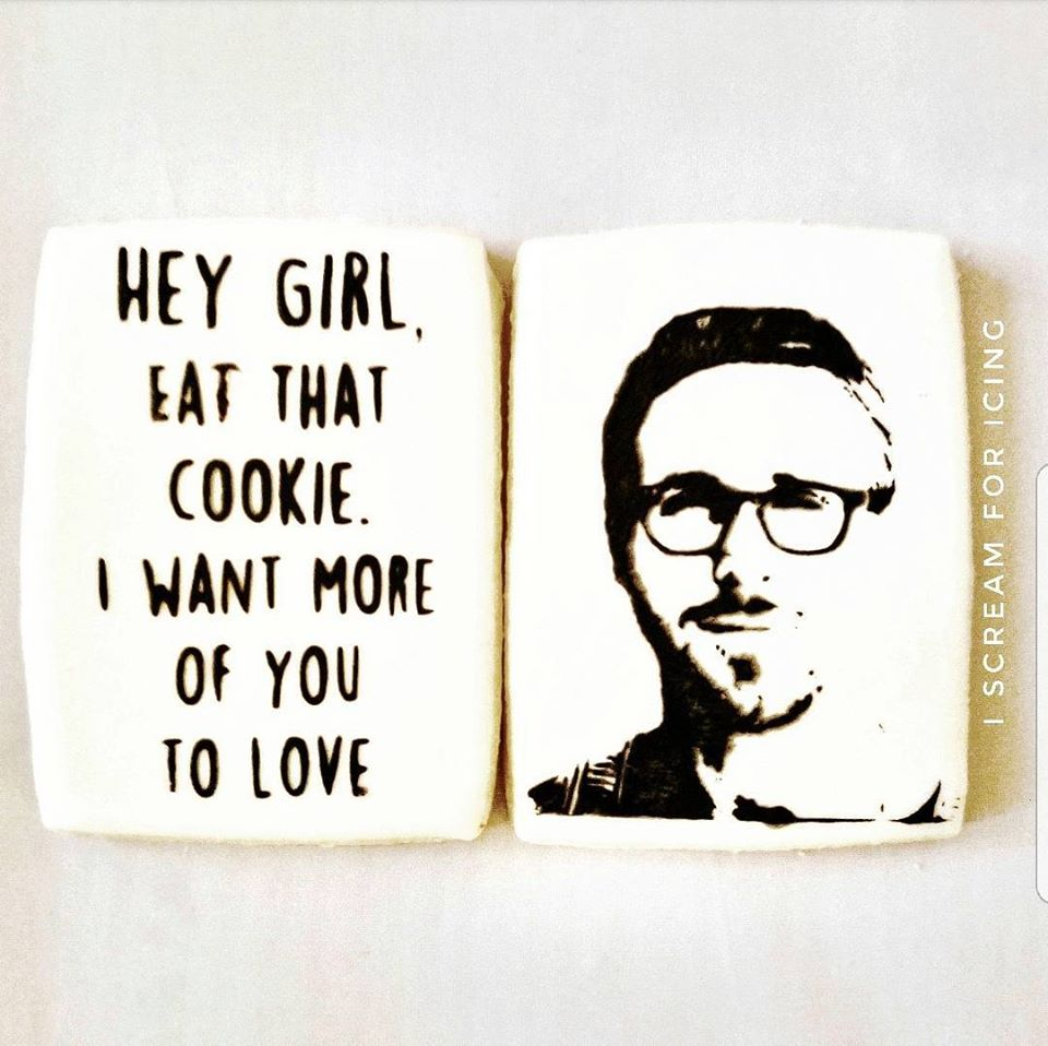 Ryan Gosling Cookies