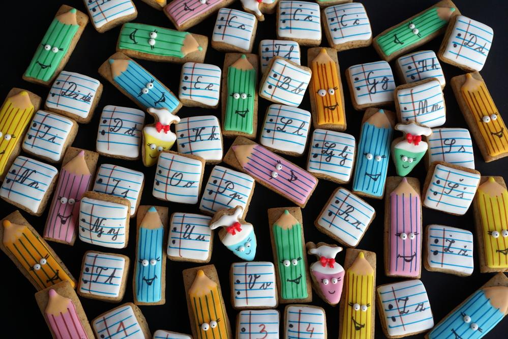 Alphabet and Pencils