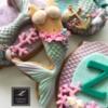 Lorena Rodriguez. Mermaid cookies.