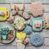 Mother's day garden cookies