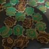 Henna-Inspired Royal Icing Plaque Cookies - View 1