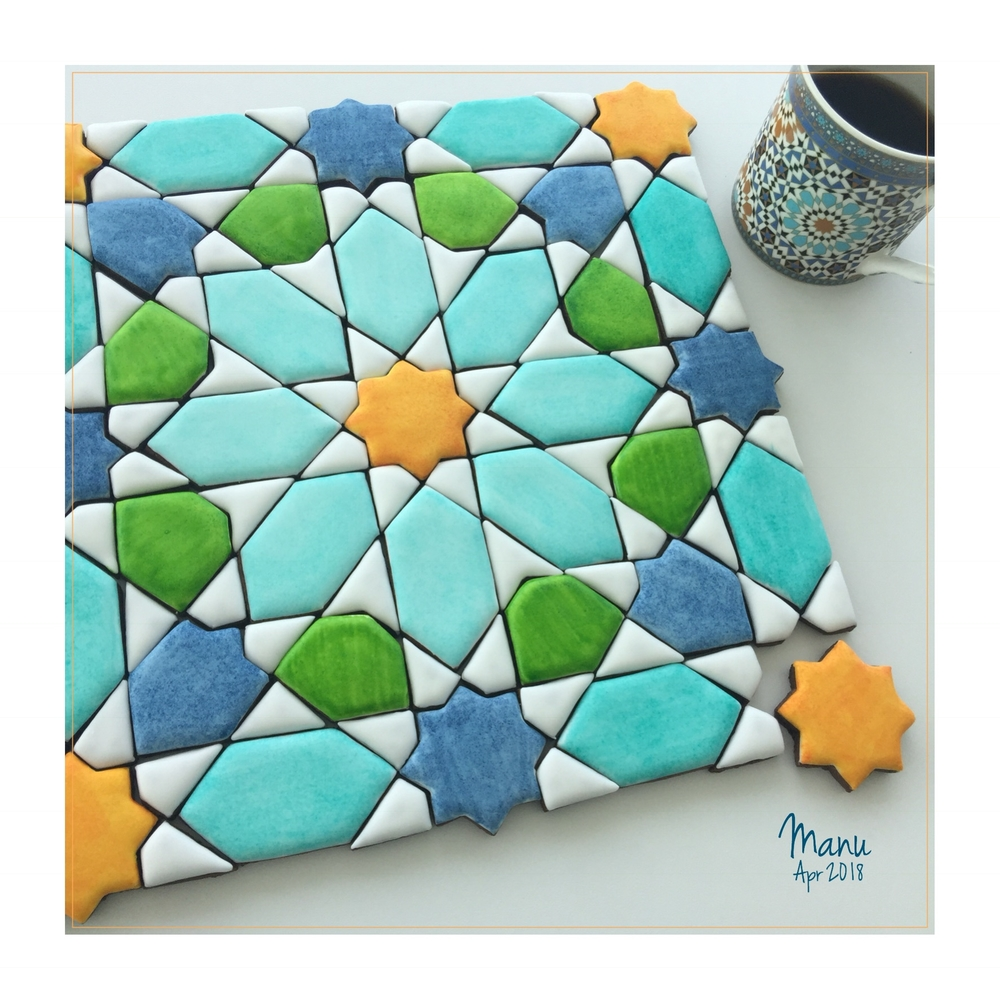 Islamic Art Inspired Cookies | Manu