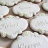 Wedding placecard cookies