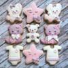 Baby Girl Cookies