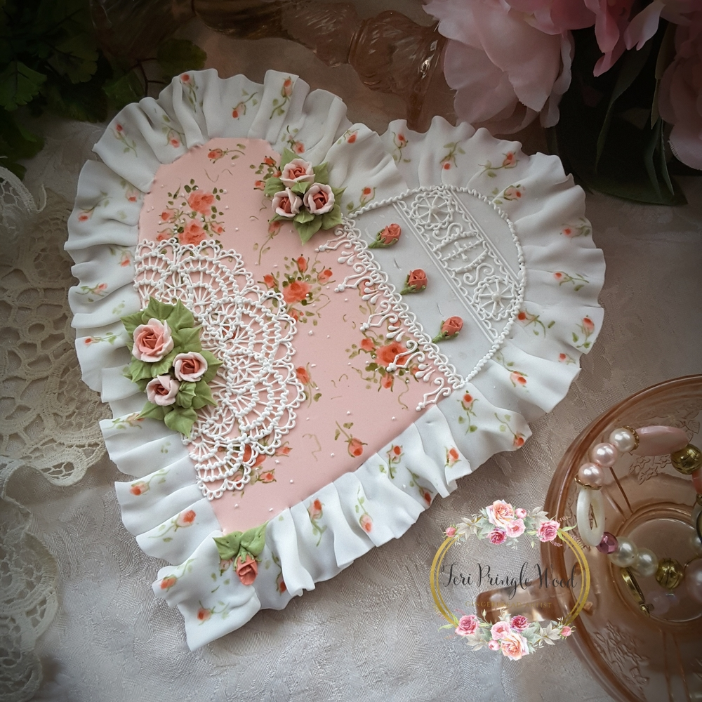 Doilies, Ruffles, and Roses