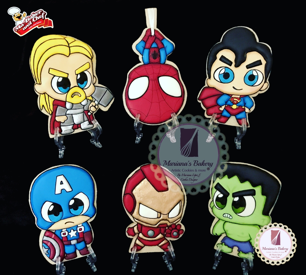 More Super Heroes