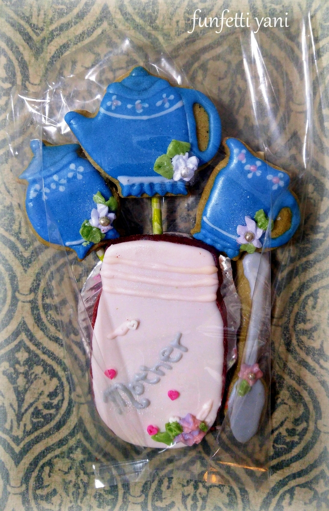 Tea Time Cookie Bouquet