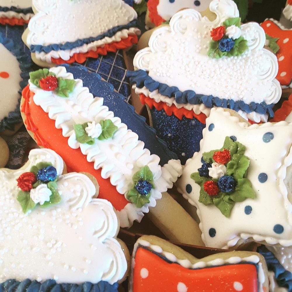 Cupcakes and icecream
