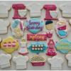 Sydney's bakers theme birthday party