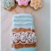 Mason Jar Floral Cookie