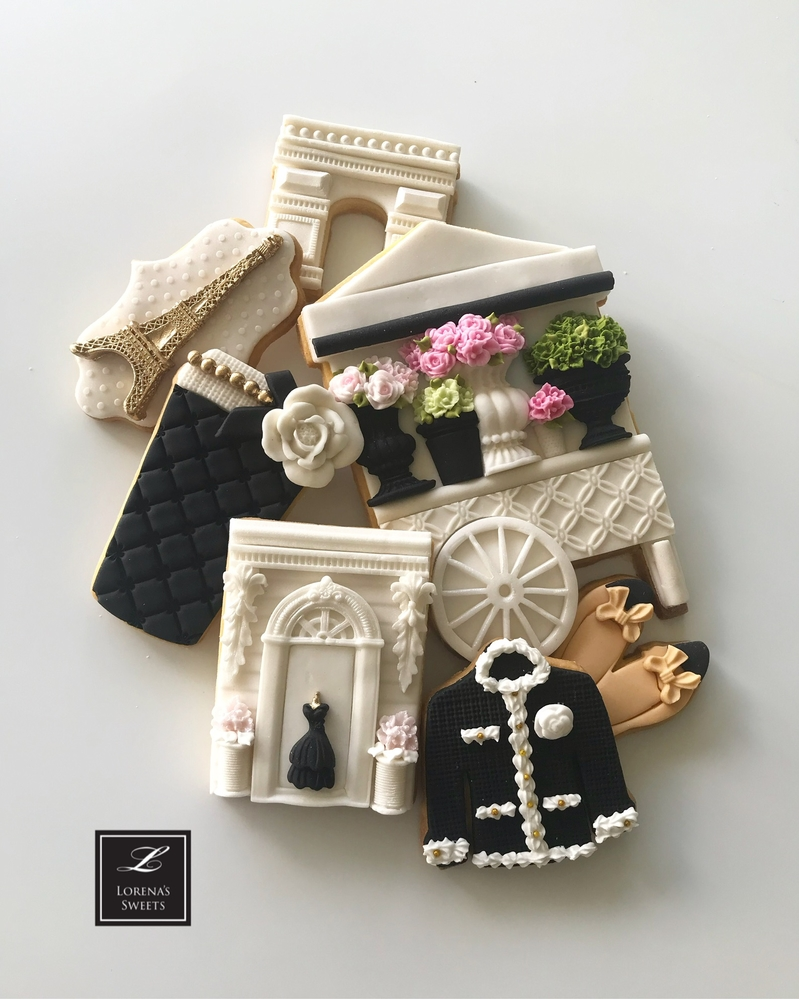 Couture Cookies by Lorena Rodriguez